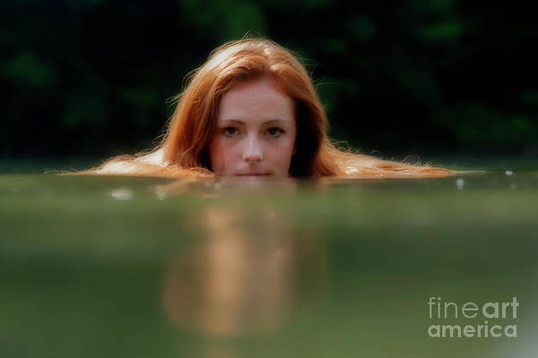 Photograph - Patty Looking Above The Water by Dan Friend