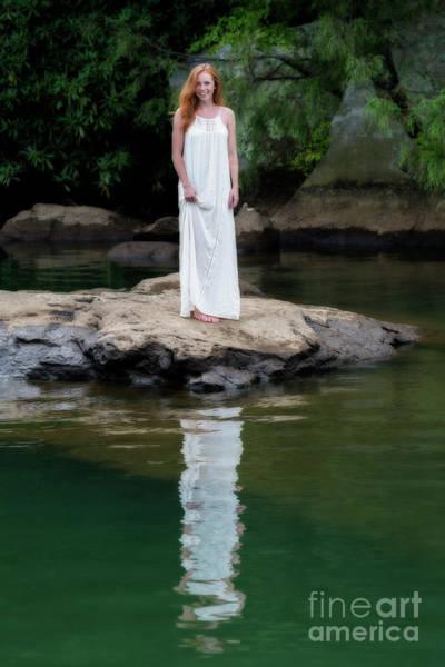 Photograph - Patty Standing On Rock by Dan Friend