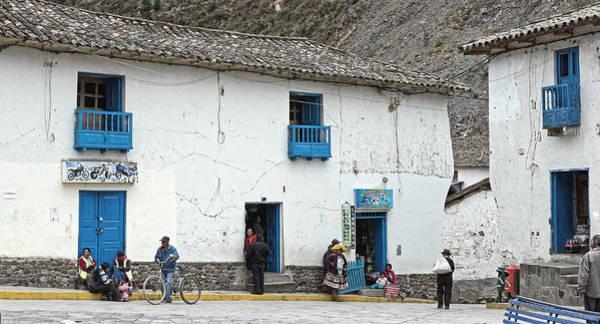 Photograph - Paucartambo, Peru 2013 by Chris Honeyman