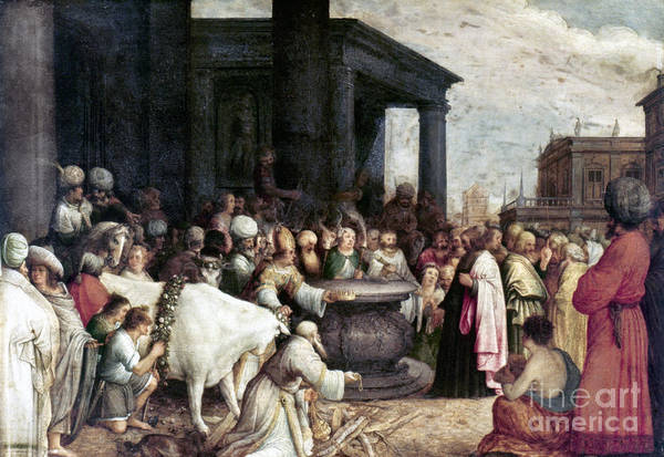 Painting - Paul And Barnabas by Granger