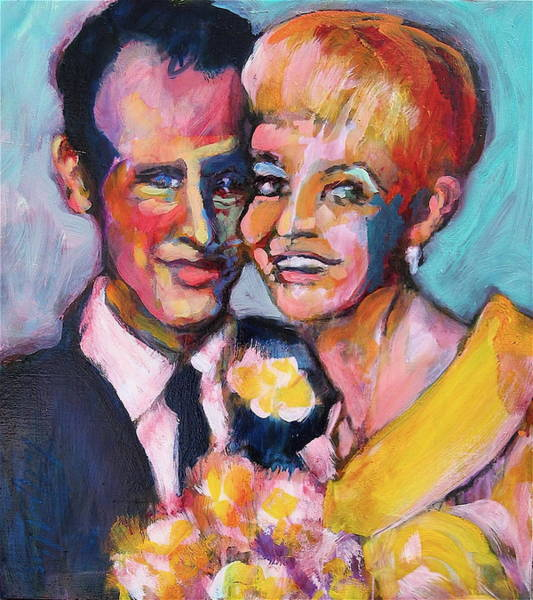 Painting - Paul And Joanne by Les Leffingwell