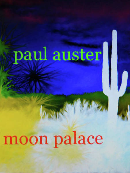 Paul Auster Poster Moon Palace Art Print