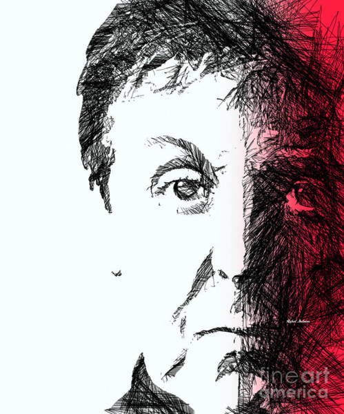 Digital Art - Paul Mccartney by Rafael Salazar