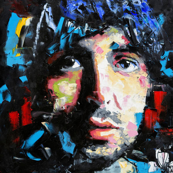 Wall Art - Painting - Paul Mccartney by Richard Day