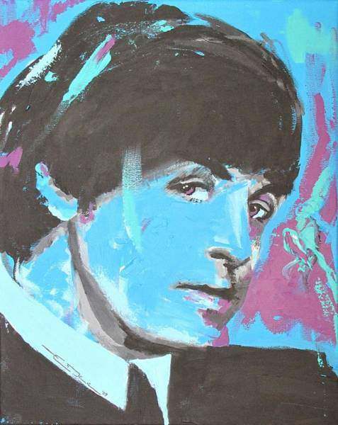 Painting - Paul Mccartney Single by Eric Dee