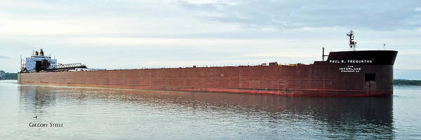 Freighter Wall Art - Photograph - Paul R Tregurtha by Gregory Steele