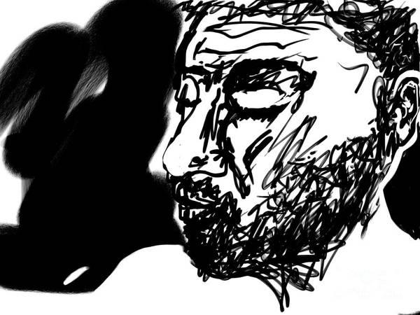 Digital Art - Paul Ramnora Self-portrait by Paul Ramnora