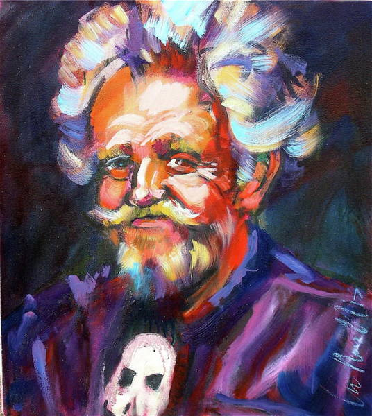 Painting - Paul Smith by Les Leffingwell