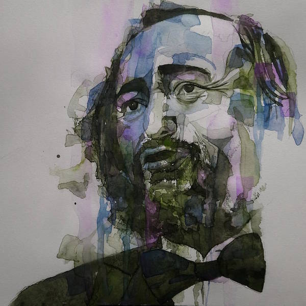Opera Singer Painting - Pavarotti by Paul Lovering