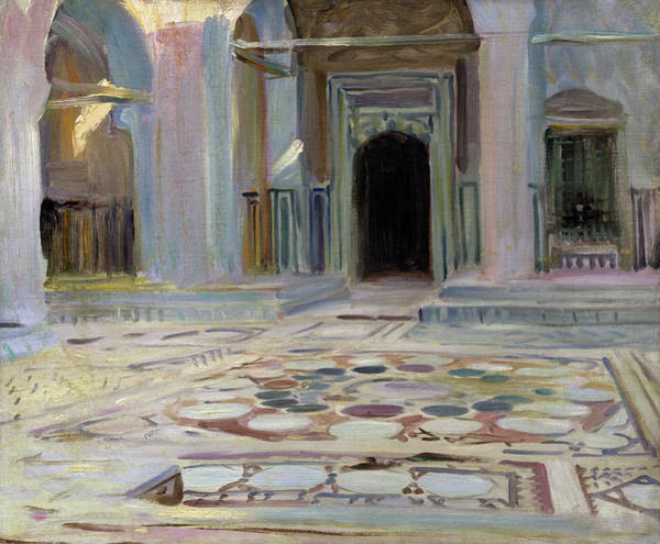 Painting - Pavement, Cairo by John Singer Sargent