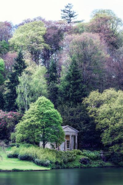 English Cottage Photograph - Pavillion At The Lake by Joana Kruse