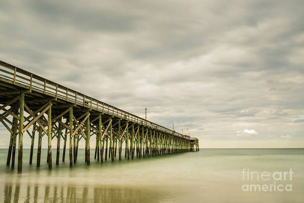 Whitecaps Photograph - Pawleys Island Pier II by DiFigiano Photography