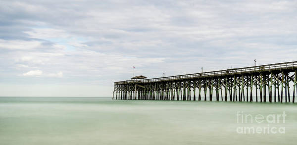 Strand Photograph - Pawleys Island Pier 3 by DiFigiano Photography