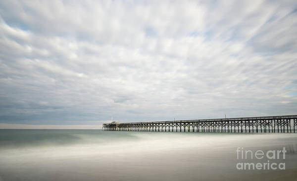 Low Tides Photograph - Pawleys Island Pier I by DiFigiano Photography