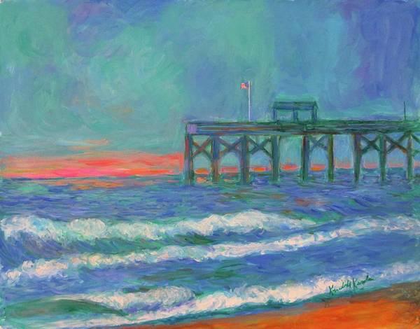 Painting - Pawleys Pier by Kendall Kessler
