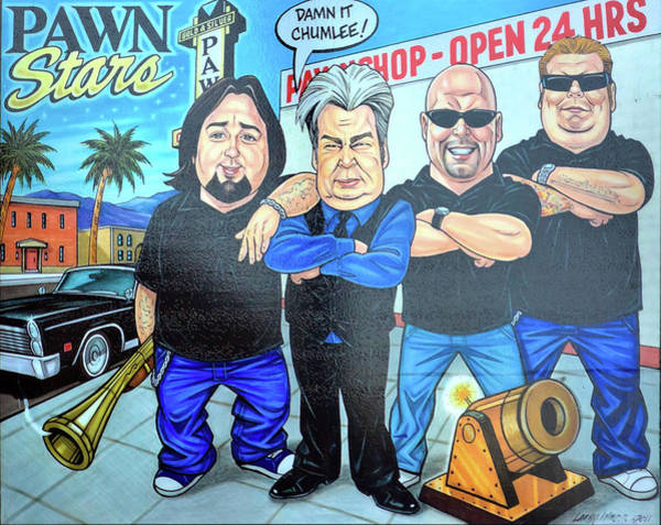 Photograph - Pawn Stars In Las Vegas by Tatiana Travelways