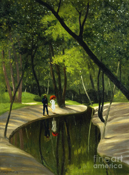 Paysage Wall Art - Painting - Paysage Du Boulogne, 1919  by Felix Edouard Vallotton