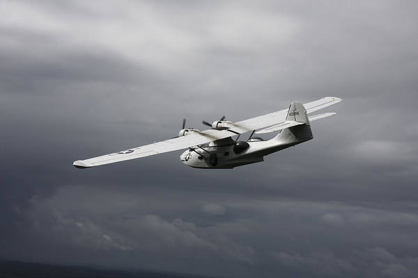 Photograph - Pby Catalina Vintage Flying Boat by Daniel Karlsson