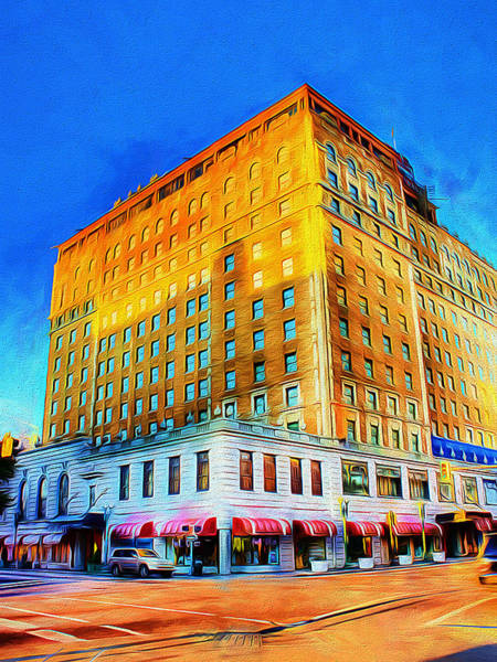 Photograph - Peabody Hotel - Memphis by Barry Jones