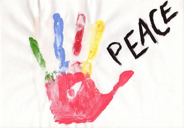 Popart Drawing - Peace by Celebrity Popart