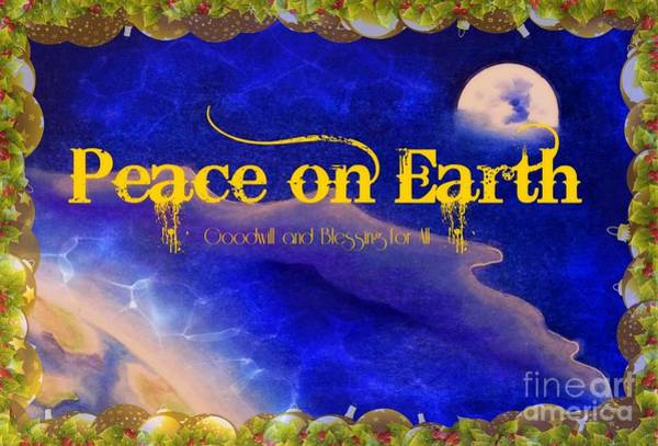 Mixed Media - Peace by David Neace