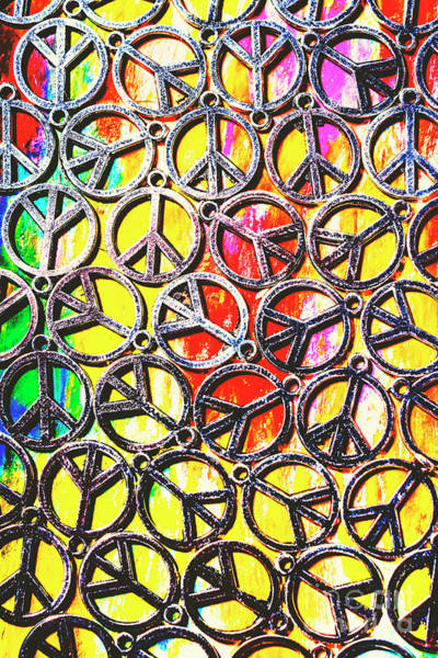 Culture Wall Art - Photograph - Peace In All Colours by Jorgo Photography - Wall Art Gallery