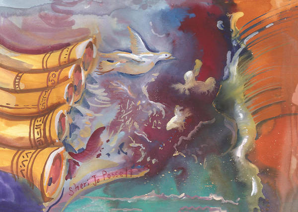 Painting - Peace In The Storm by Sheri Jo Posselt