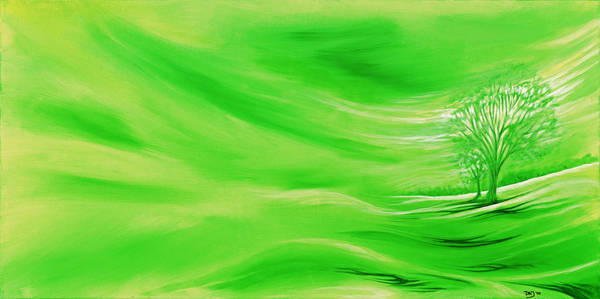 Wall Art - Painting - Peace In The Valley by David Junod