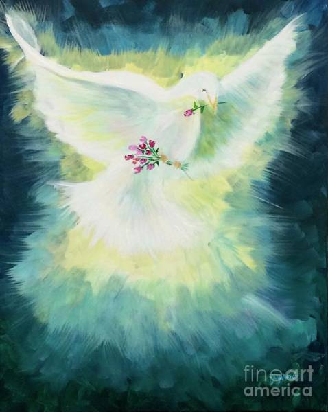 Painting - Peace by Lisa DuBois
