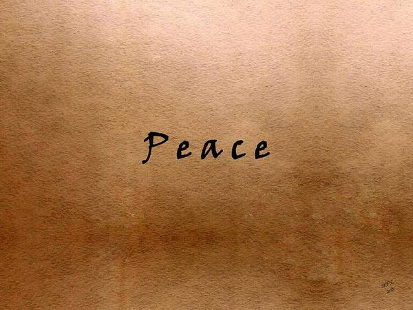 Painting - Peace by Marian Palucci-Lonzetta