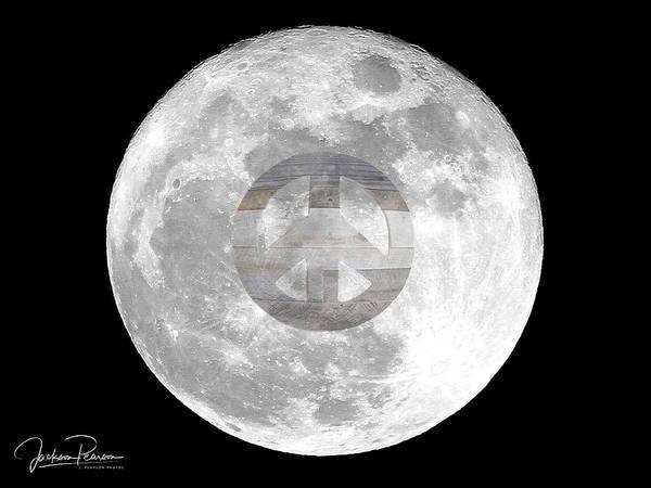 Photograph - Peace Moon by Jackson Pearson