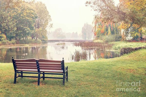 Wall Art - Photograph - Peace Of Autumn by Evelina Kremsdorf