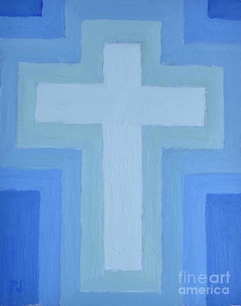 Pray For Love Wall Art - Painting - Peace Of The Cross by Philip Jones