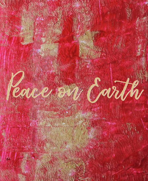 Photograph - Peace On Earth #holidays #christmas by Andrea Anderegg