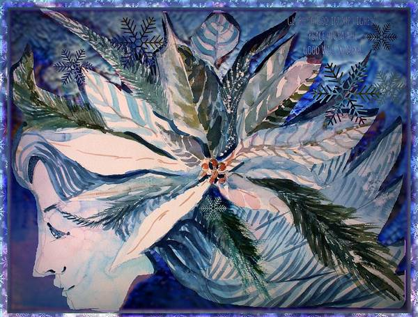 Wall Art - Painting - Peace On Earth by Mindy Newman