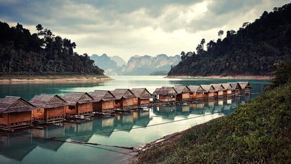 Photograph - Peace On The Lake by Radek Spanninger