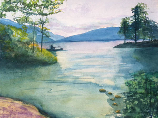 Painting - Peace On The Water  by Lynne Atwood