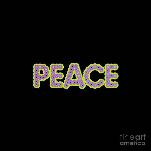Digital Art - Peace by Rachel Hannah