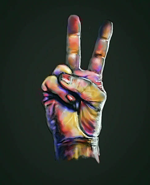 Digital Art - Peace by Rick Mosher