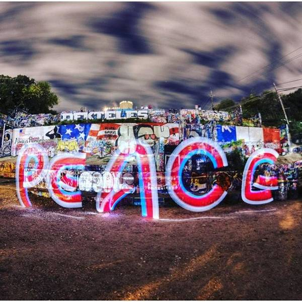 Peace Wall Art - Photograph - #peace Shall Prevail If We All Use Our by Andrew Nourse