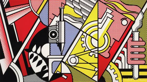 Photograph - Peace Through Chemistry I - Roy Lichtenstein by Doc Braham - In Tribute to Roy Lichtenstein