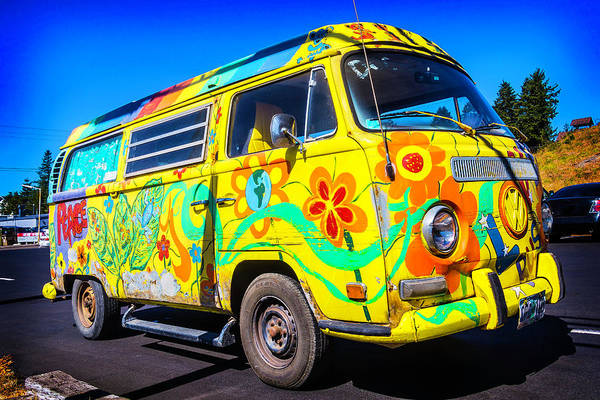 Wall Art - Photograph - Peace Vw by Garry Gay