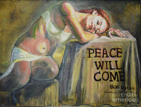 Painting - Peace Will Come by Raija Merila