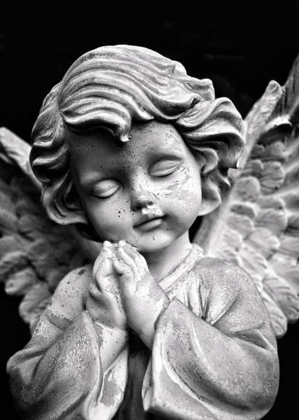 Photograph - Peaceful Angel by Nathan Little