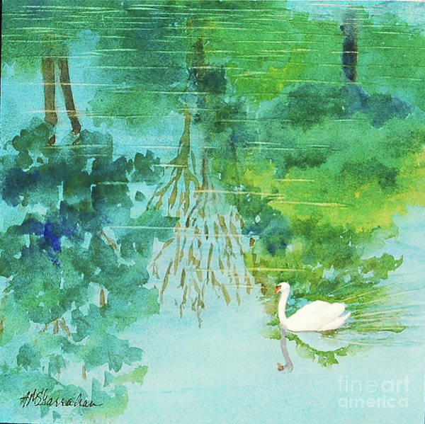Wall Art - Painting - Peaceful by Annette McGarrahan