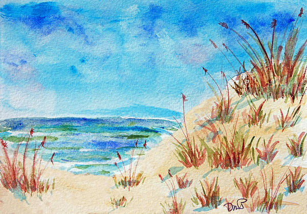 Painting - Peaceful Beach II by Donna Proctor
