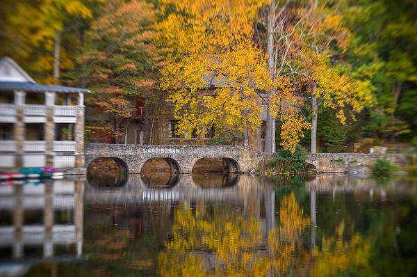 Photograph - Peaceful Bridge by Joye Ardyn Durham