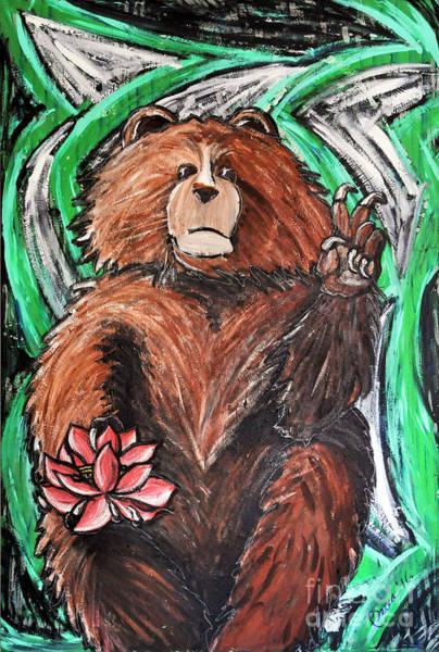 Painting - Peaceful Demonstration by Rebecca Weeks Howard