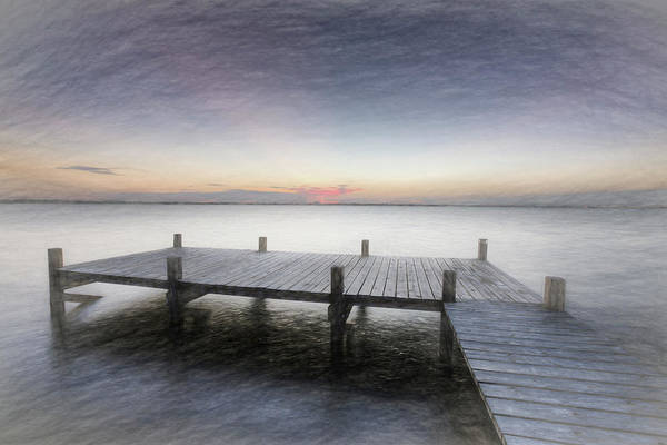 Photograph - Peaceful Dream At Dawn  by Debra and Dave Vanderlaan