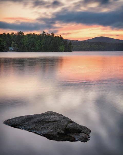 Photograph - Peaceful Evening On Bear Pond by Darylann Leonard Photography
